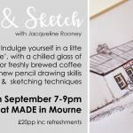 Sip & Sketch with Jacqueline Rooney